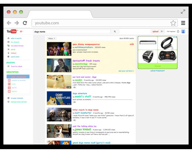 10 незаметных интерфейсных решений компании YouTube. Изображение № 6.