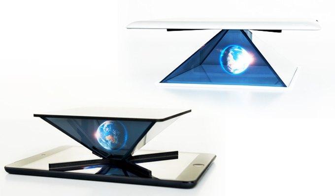 На Kickstarter собирают деньги на голографический проектор для смартфонов. Изображение № 1.