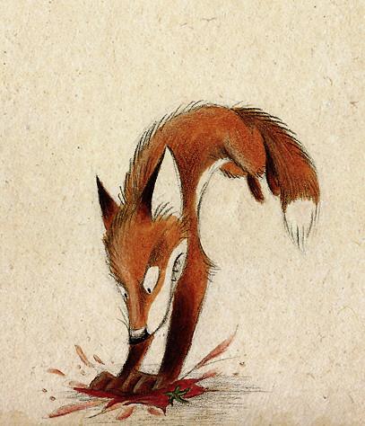 Забавные иллюстрации из жизни лисиц от Skia. Изображение № 4.