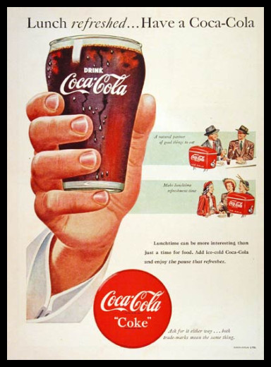 Изображение 35. Coca-cola – История бренда, история рекламы.. Изображение № 35.