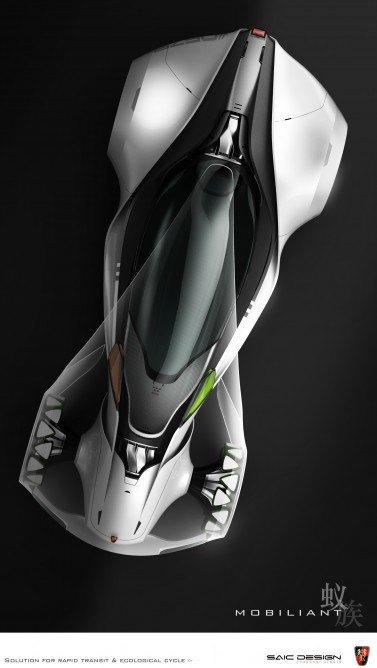 SAIC Motor представил концепцию машины-муравья. Изображение № 9.