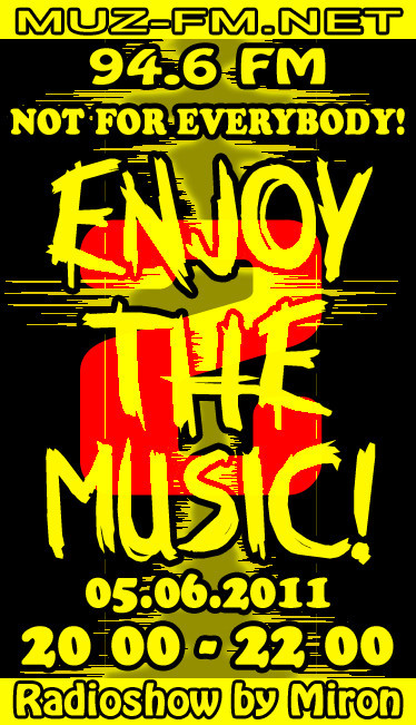 Enjoy THE MUSIC2Radioshow by Miron(Guest - PCP)05062011. Изображение № 1.