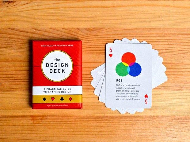 Игральные карты научат графическому дизайну. Изображение № 1.