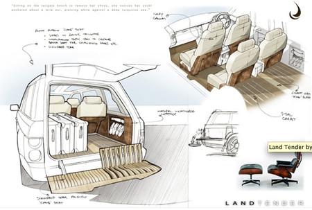 Яхт-дизайн внедорожника Range Rover Superyacht. Изображение № 6.