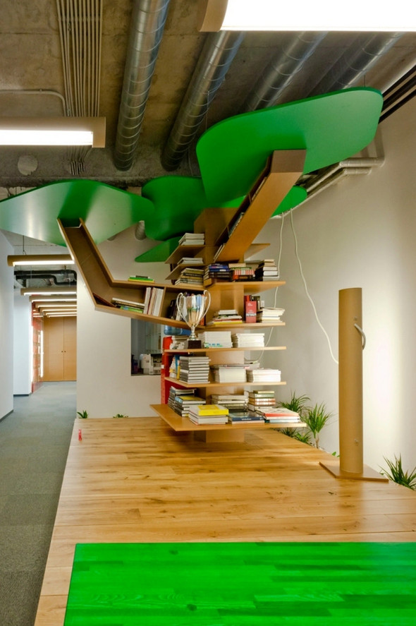 Офисы в стиле «трэш» от рижского бюро OPEN AD. Изображение № 9.
