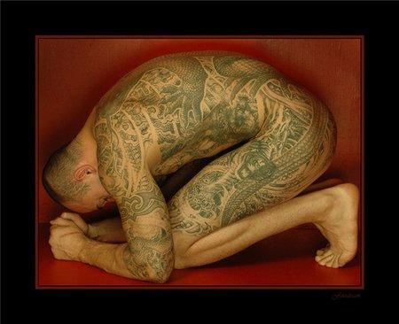 Японские татуировки. Изображение № 7.