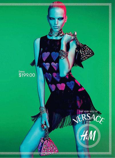 Превью кампании: Versace для H&M. Изображение № 4.