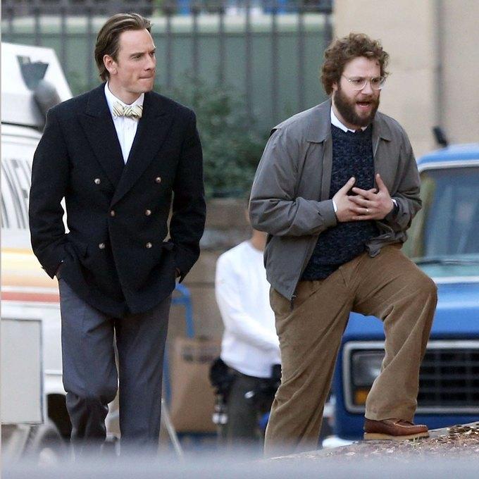 Фото дня: Майкл Фассбендер в роли Стива Джобса. Изображение № 3.