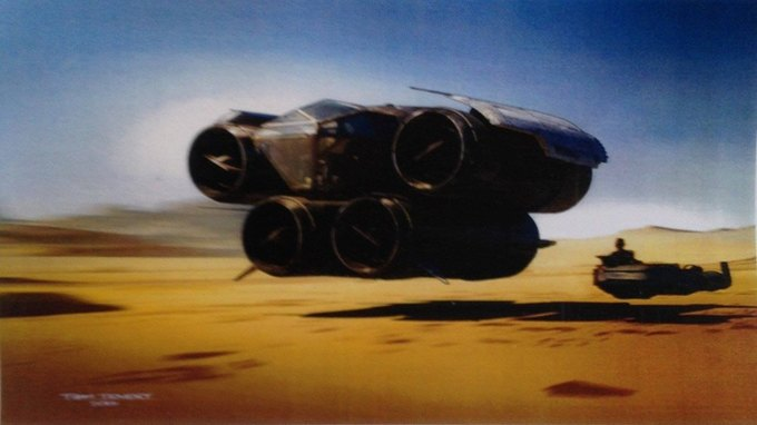В Сеть выложили 32 концепт-арта для «Звёздных войн VII». Изображение № 10.