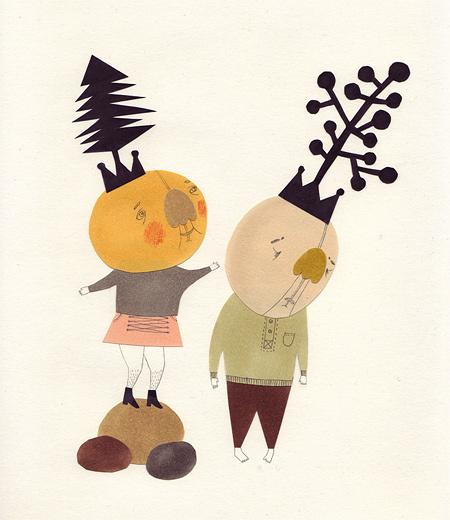 Милые уродцы виллюстрациях Sandra Juto. Изображение № 31.