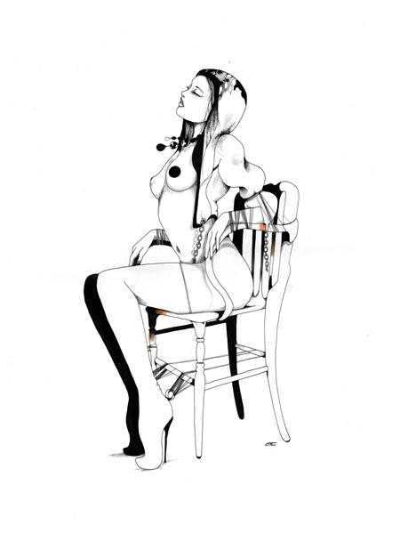 Иллюстрации Дэйвида Брэя грация исексуальный подтекст. Изображение № 16.