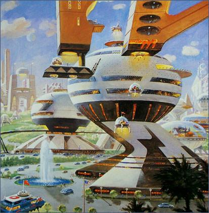 Каким было будущее. Космореализм Роберта МакКолла. Изображение № 19.