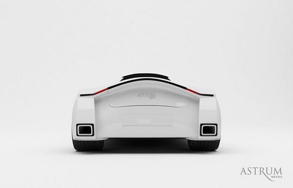 Astrum Meera - проект очень красивого автомобиля со многочисленными нововведениями. Изображение № 4.