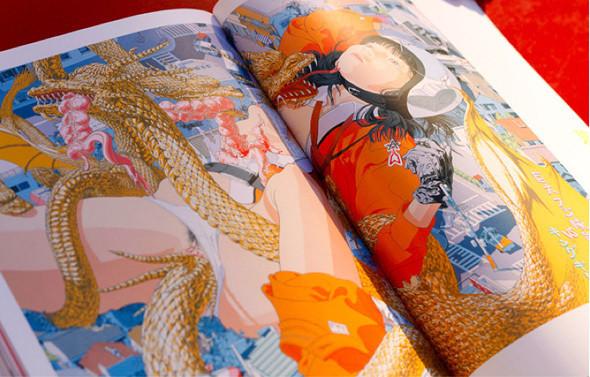 11 альбомов о японской иллюстрации. Изображение № 5.