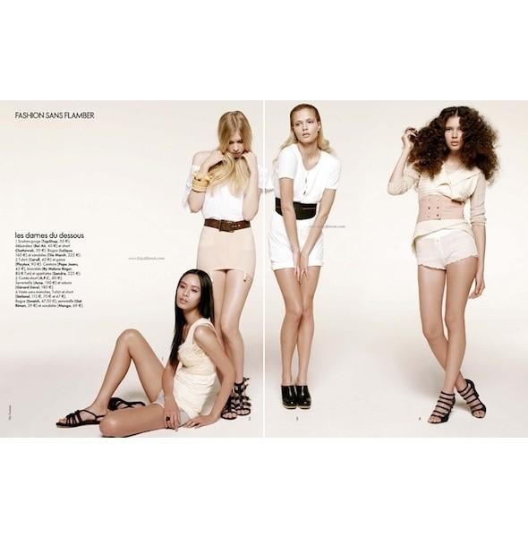 5 новых съемок: Amica, Elle, Harper's Bazaar, Vogue. Изображение № 13.