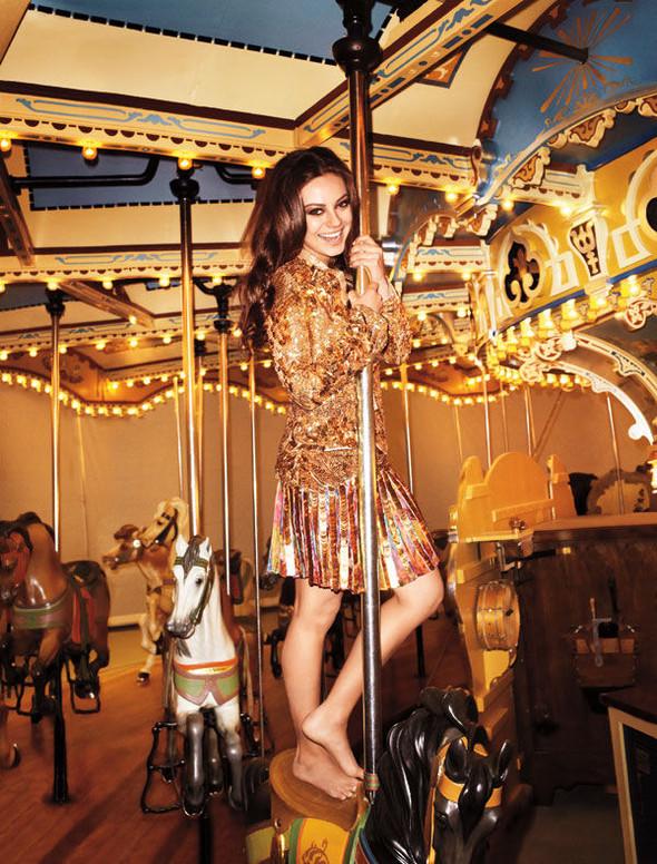 Съёмки: Джеймс Франко для GQ Style и Мила Кунис для Harper's Bazaar. Изображение № 11.