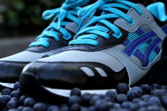 Asics Gel Lyte III Blueberry 2012 Re-Release. Изображение № 1.