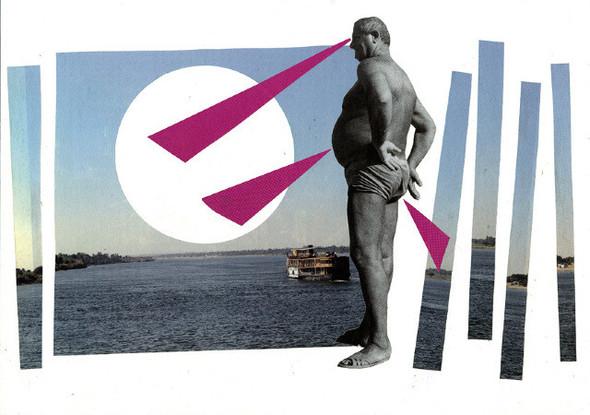 Клей, ножницы, бумага: 10 современных художников-коллажистов. Изображение № 43.
