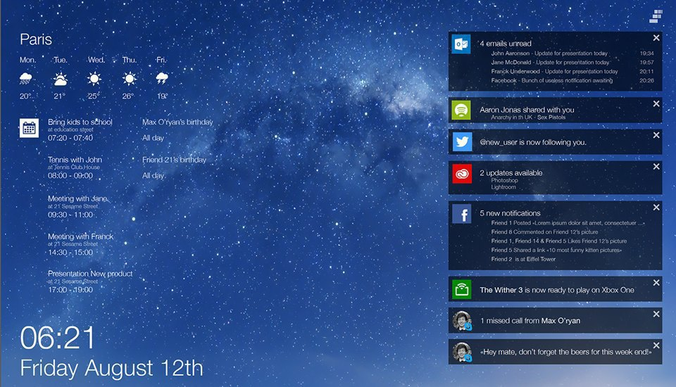 11 концептов Windows 9, которые лучше Windows 10. Изображение № 35.