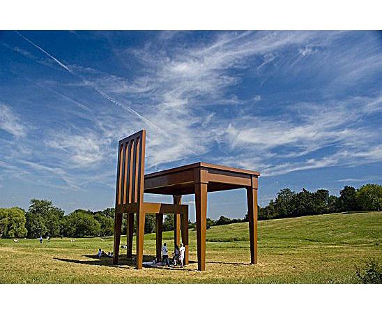 Гигантомания: 20 огромных скульптур современных художников. Изображение № 21.