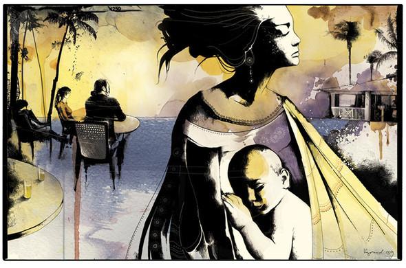 Иллюстрации для журнала и сайта «Сноб». Изображение № 1.