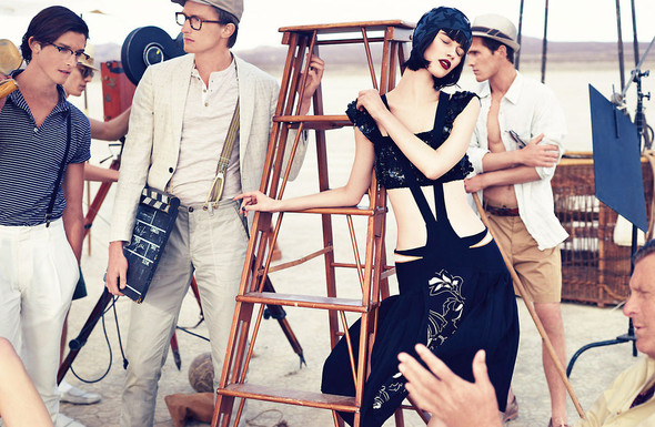 Съёмки: Elle, i-D и Vogue. Изображение № 25.