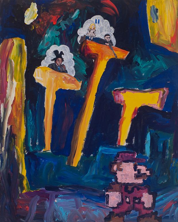 В Нью-Йорке откроется выставка картин Маколея Калкина и The Moldy Peaches. Изображение №3.