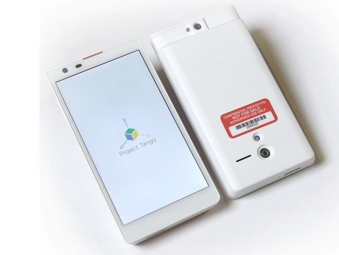 Новый смартфон Google займётся навигацией внутри зданий. Изображение № 1.