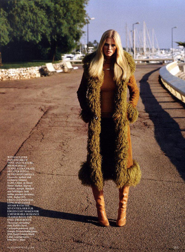 Лара Стоун в Vogue UK. Изображение № 6.