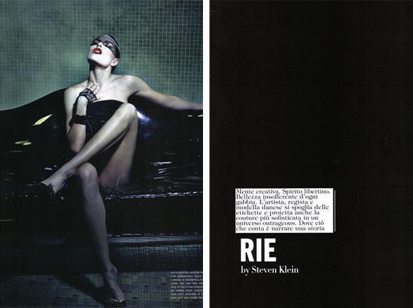 Прямая речь: модель, актриса и художник Рие Расмуссен (часть вторая). Изображение № 4.