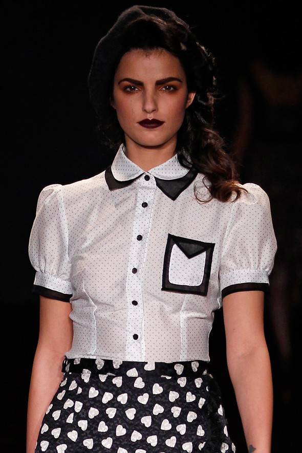 Berlin Fashion Week A/W 2012: Lena Hoschek. Изображение № 4.