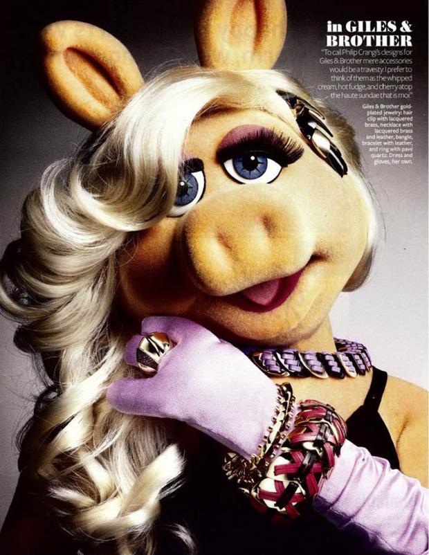 Мисс Пигги - Самая модная свинка мира.. Изображение № 1.