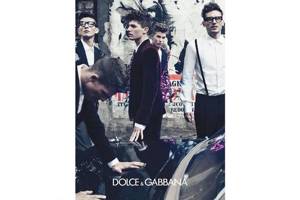 Мужские кампании: Fendi, Dolce & Gabbana и Ralph Lauren. Изображение № 11.