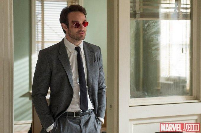 Чарли Кокс в костюме Мэттью Мёрдока. Изображение № 2.