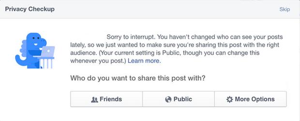 Динозавр стал новым маскотом Facebook . Изображение № 1.