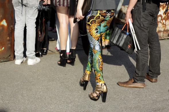 Изображение 7. Девушки на Milan Fashion Week: день 3 и 4.. Изображение № 7.