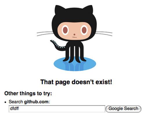 20 Интересных оформлений страницы ошибки 404. Изображение № 11.