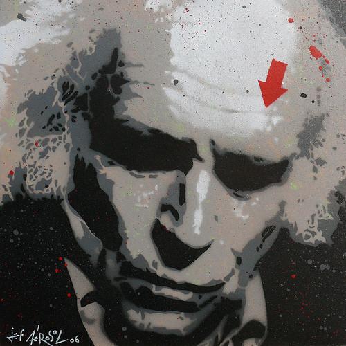 JefAérosol, уличный художник. Изображение № 2.