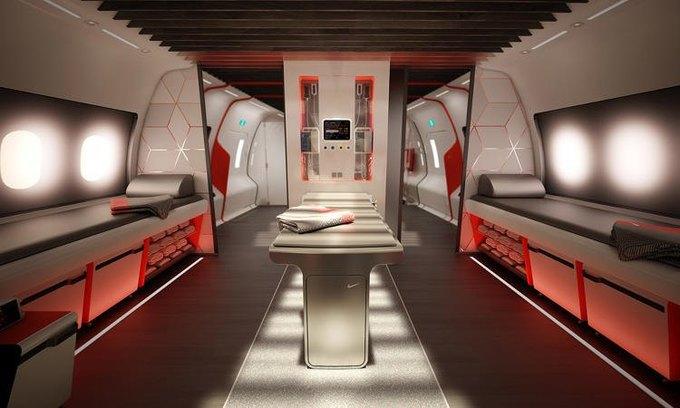 Здесь игроки могут получить всю необходимую им медицинскую помощь. На борту есть капельницы для инфузий, а также оборудование для массажа, электростимуляции и теплых и холодных компрессов. Изображение № 6.