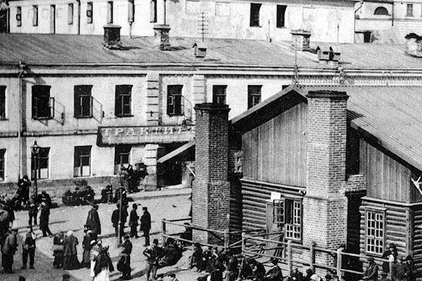 Трактир на Хитровской площади в начале XX века. Изображение № 3.