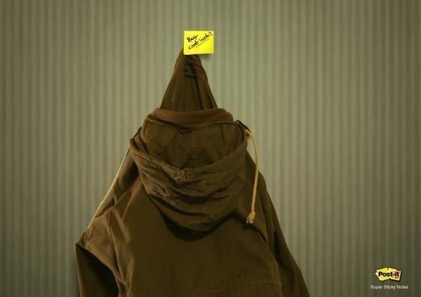 Изображение 10. Креативная реклама Post-it.. Изображение № 10.