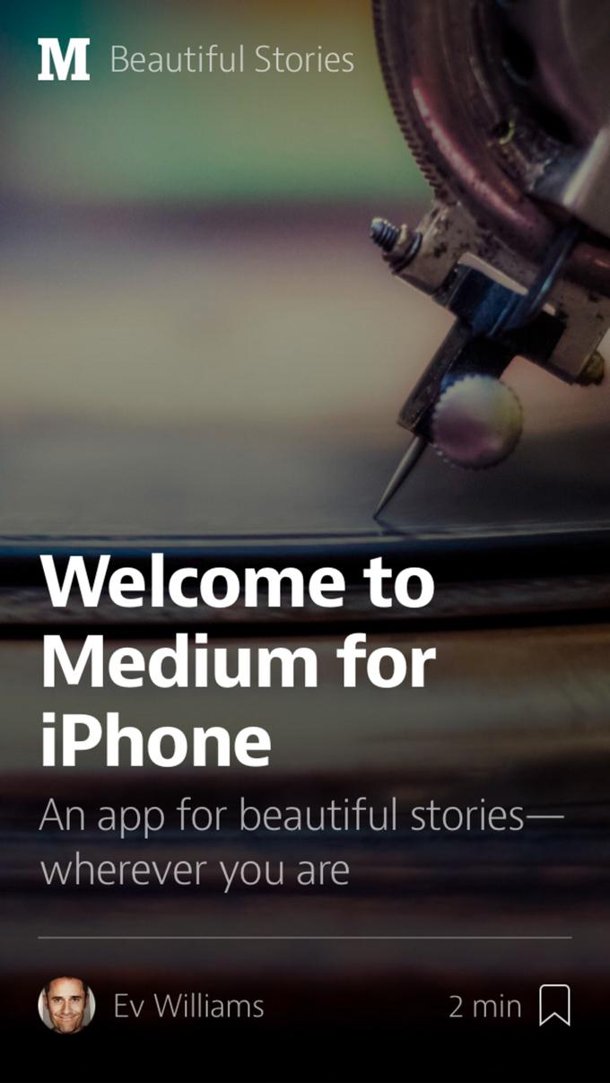 Блог-платформа Medium запустила мобильное приложение . Изображение № 6.