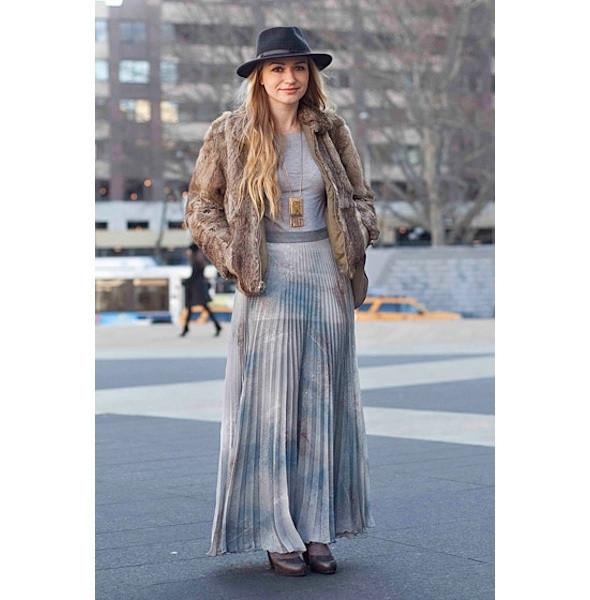 Изображение 178. На полях: 10 тенденций уличного стиля с прошедших недель моды.. Изображение № 178.