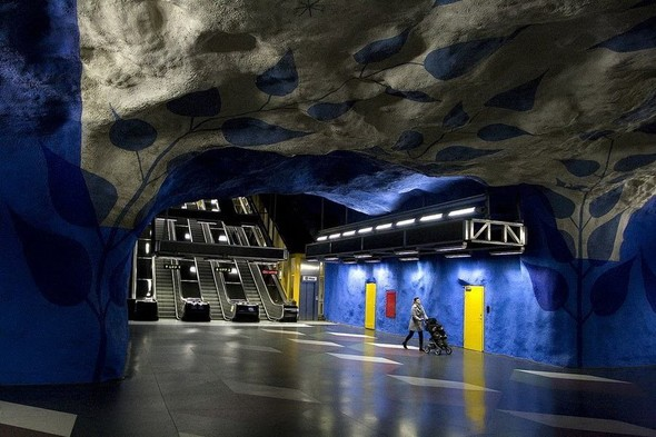 Шведский метрополитен. Изображение № 1.