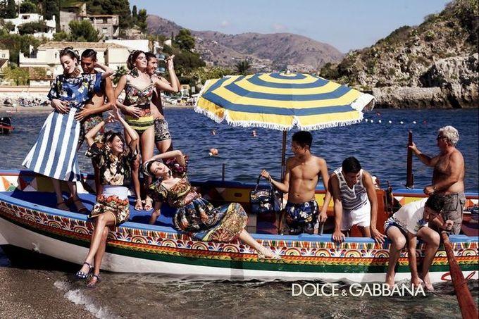 Dolce & Gabbana, Louis Vuitton и другие показали новые кампании. Изображение № 8.