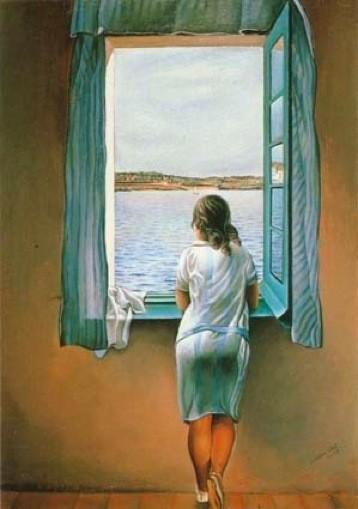 Сальвадор Дали «Женская фигура у окна» 1925 г.. Изображение № 19.