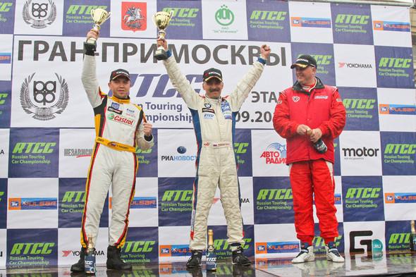ТНК Racing Team: борьба со стихией на пятом этапе чемпионата России. Изображение № 1.