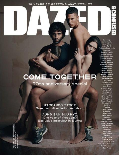 Обложка: Рикардо Тиши для Dazed & Confused. Изображение № 1.