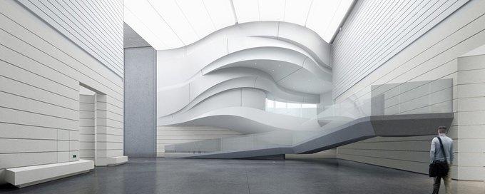 Архитектура дня: музей в Китае сбелым «слоёным» фасадом. Изображение № 24.