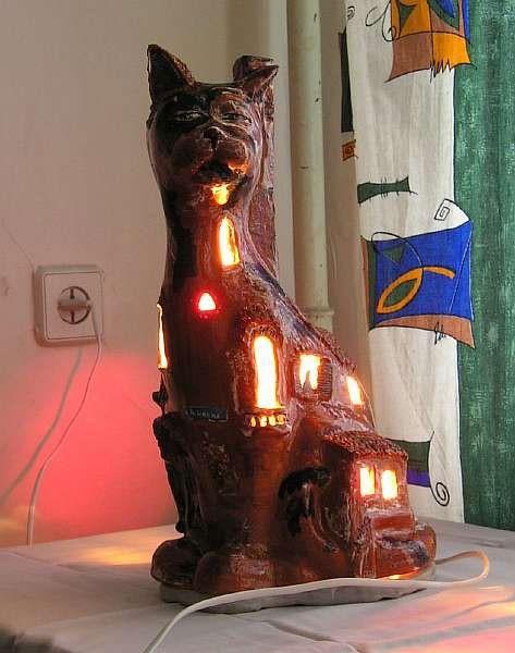 Кошки в интерьере. Изображение № 27.